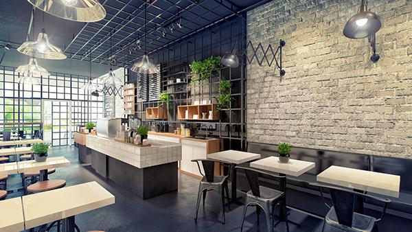 Thiết kế thi công quán Trà Sữa tại Tp Vinh Nghệ An